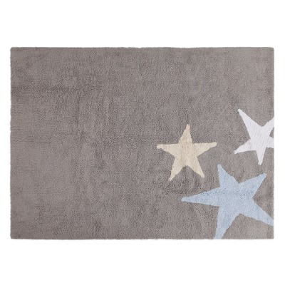 Lorena Canals Three Stars Blue 120x160cm (Rug)
