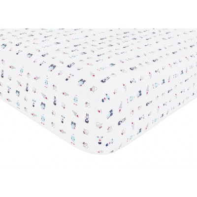 Babyletto Galaxy Fitted Crib Sheet