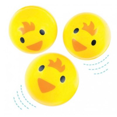 Baker Ross Chick Jet Balls (Pack of 6)