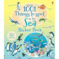 Usborne 1001 Things to Spot in the Sea Sticker Book