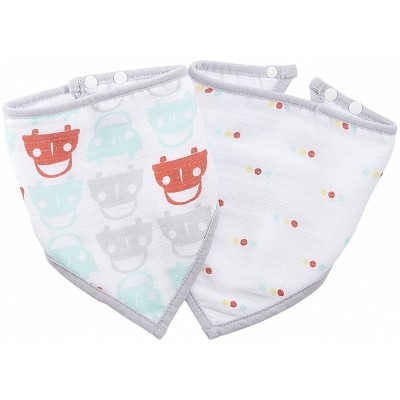 Aden - Ideal Baby Bandana Bibs 2 Pack - Road Trip
