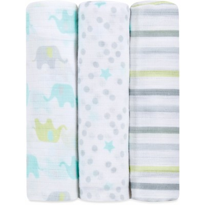 Aden - Ideal Baby Swaddle 3 Pack - Dreamy
