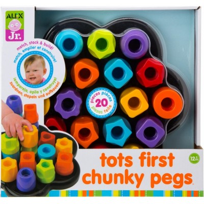 Alex Toys Tots First Chunky Pegs