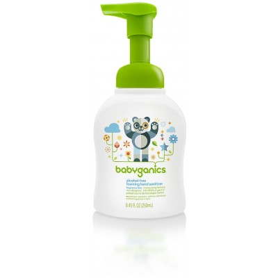 Baby Ganics Hand Sanitizer Fragrance Free - 250ml Table-Top