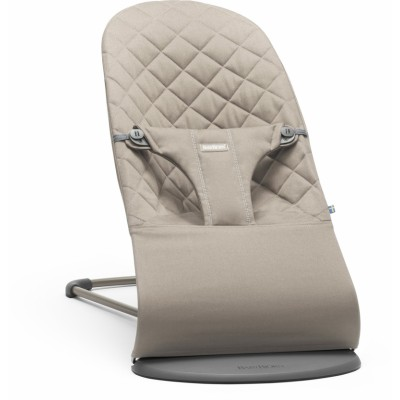 BabyBjorn Bouncer Bliss, Cotton - Sand Grey