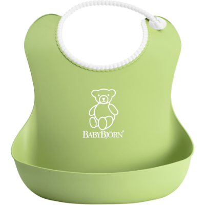 BabyBjorn Soft Bib - Green