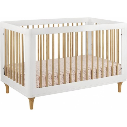 Babyletto Lolly 3 In 1 Convertible Crib White Natural