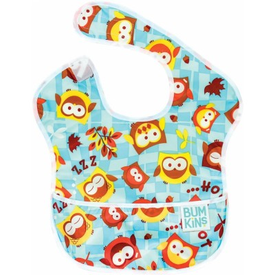 Bumkins SuperBib Blue Owl