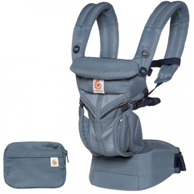 Ergobaby All-In-One OMNI 360 Baby Carrier - Cool Air Mesh - Oxford Blue