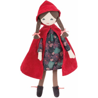 Moulin Roty Il Etait Une Fois Mini Little Red Riding Hood Doll 28cm