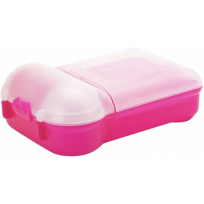 Nude Food Movers Mini Rubbish Free Lunchbox - Pink