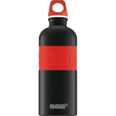 SIGG Screw Top -Cyd Black Touch Red (0.6L)