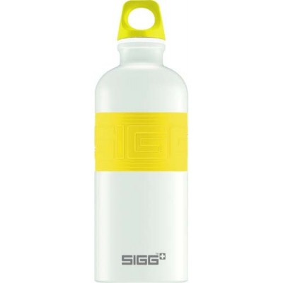 SIGG Screw Top -Cyd Pure White Touch Yellow(0.6L)