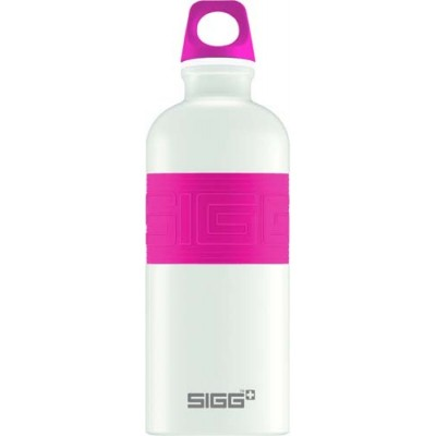 SIGG Screw Top -Cyd Pure White Touch Pink(0.6L)