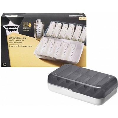 Tommee Tippee Closer to Nature Express and Go - Breast Milk Storage Case