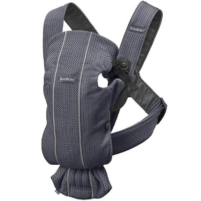 BabyBjorn Baby Carrier MINI, 3D Mesh - Anthracite