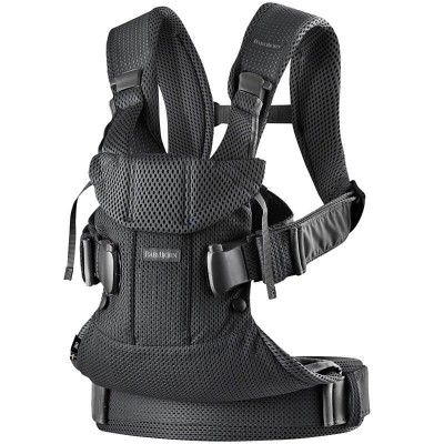 BabyBjorn Baby Carrier One Air, 3D Mesh - Black