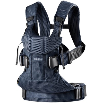 BabyBjorn Baby Carrier One Air, 3D Mesh - Navy Blue