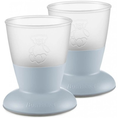 BabyBjorn Baby Cup 2-Pack - Powder Blue