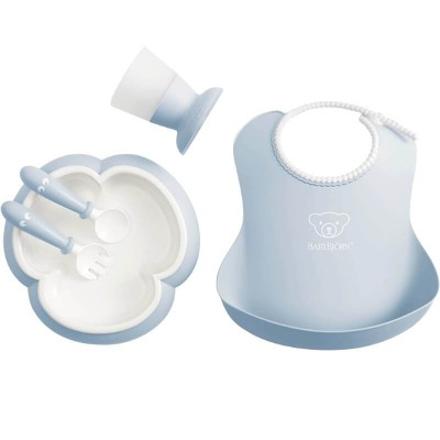 BabyBjorn Baby Dinner Set - Powder Blue