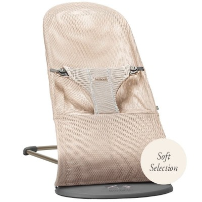 BabyBjorn Bouncer Bliss, Mesh - Pearly Pink