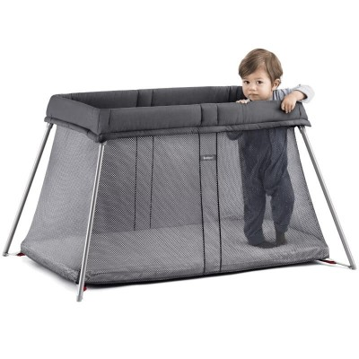 BabyBjorn Travel Crib Easy Go - Anthracite