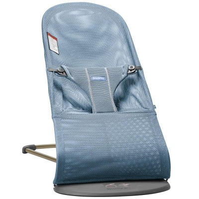 BabyBjorn Bouncer Bliss, Mesh - Slate Blue