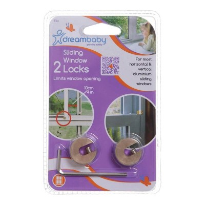 Dreambaby Sliding Window Locks (Pack of 2)