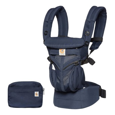 Ergobaby All-In-One OMNI 360 Baby Carrier - Cool Air Mesh - Midnight Blue