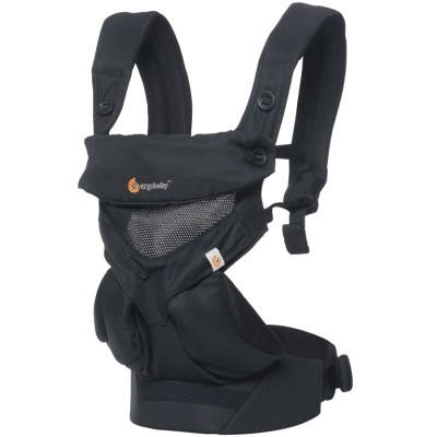 Ergobaby All Position 360 Baby Carrier - Cool Air Mesh - Onyx Black