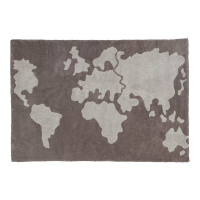 Lorena Canals World Map 140x200cm (Rug)