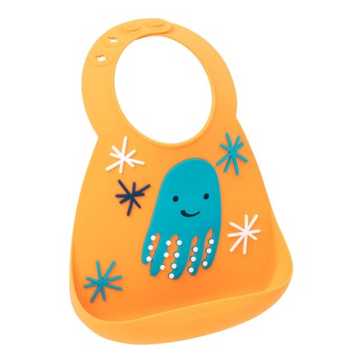 Make My Day Baby Bib - Octopus