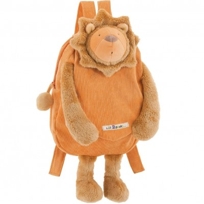 Moulin Roty Les Zazous Lion Backpack 38cm