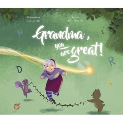 My Magic Story - Grandma, You Are Great - Personalised Story (Hard Cover)