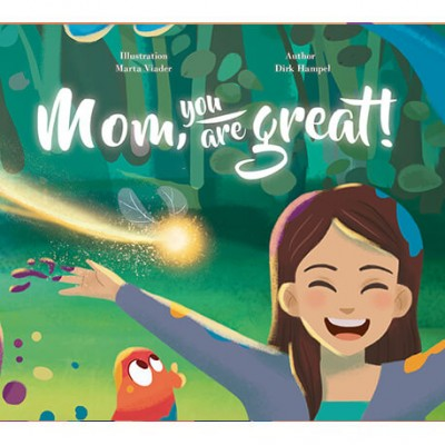 My Magic Story - Mom, You Are Great - Personalised Story (Hard Cover)