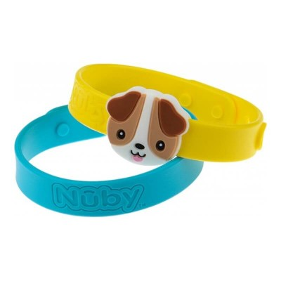Nuby All Natural Mosquito Repellent Bracelet 2pcs - Dog