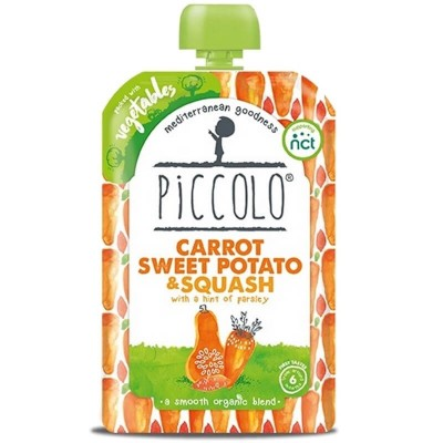 Piccolo Carrot, Sweet Potato & Squash with a Hint of Parsley 100g (6mos+)