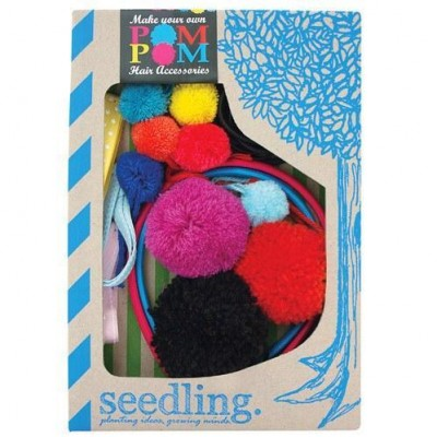 Seedling Pom Pom Hair Accessories