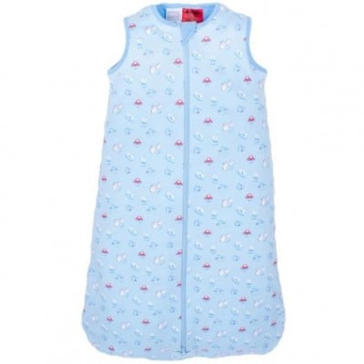 Snugtime 0.2 TOG Sleeveless Cosi Bag Unlined, Cotton, Blue, CARS