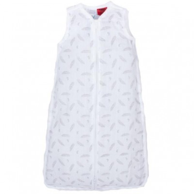 Snugtime 0.2 TOG Sleeveless Cosi Bag Unlined, Muslin, White, FEATHER