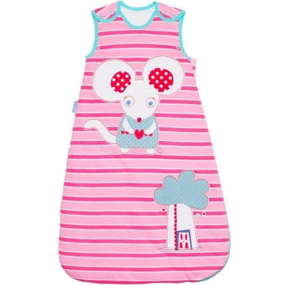 The Gro Company - Grobag Little Mo Mouse - 1.0 Tog - 0-6m