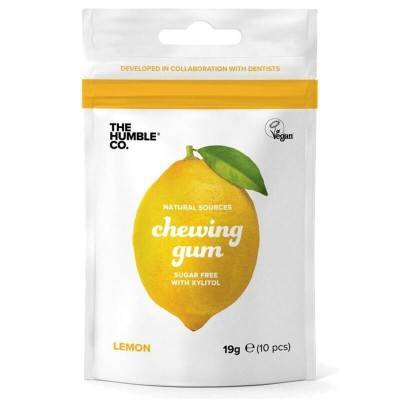 The Humble Co. Chewing Gum - Lemon 12-Pack