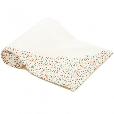 TinyBitz Hooded Blanket (Tiny Dots) 95x95cm
