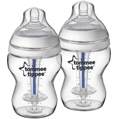 Tommee Tippee Closer to Nature PP Anti Colic Plus Bottle 260ml (Twin Pack)