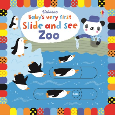 Usborne Babys Very First Slide and See Zoo