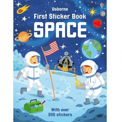 Usborne First Sticker Book - Space