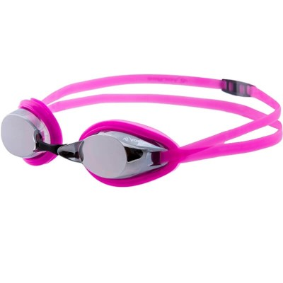 Vorgee Competition - Destroyer Silver Mirrored Lens - Fluoro Pink (Adult)