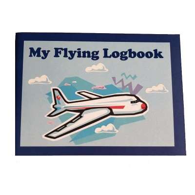 Children Flying Logbook - Blue