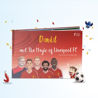 My Magic Story - The Magic of Liverpool FC - Personalised Book (Hard Cover)