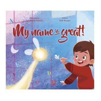 My Magic Story - My Name Is Great - Personalised Story (Hard Cover)